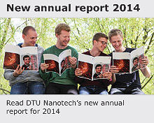 Read DTU Nanotech's annual report