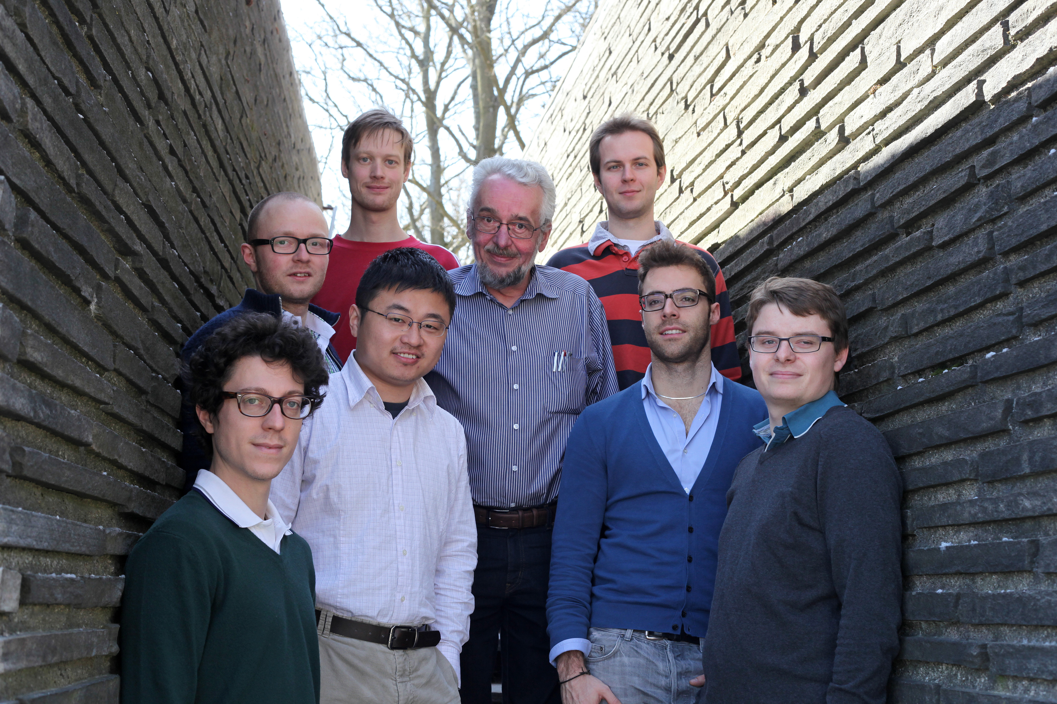 Members of the Silicon Microtechnology group spring 2013